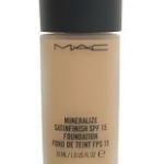 Review: MAC Mineralize Satinfinish SPF 15 Foundation