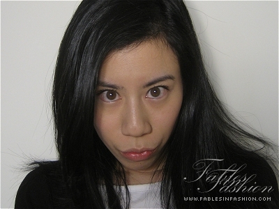Fables in Fashion Sirene No Makeup