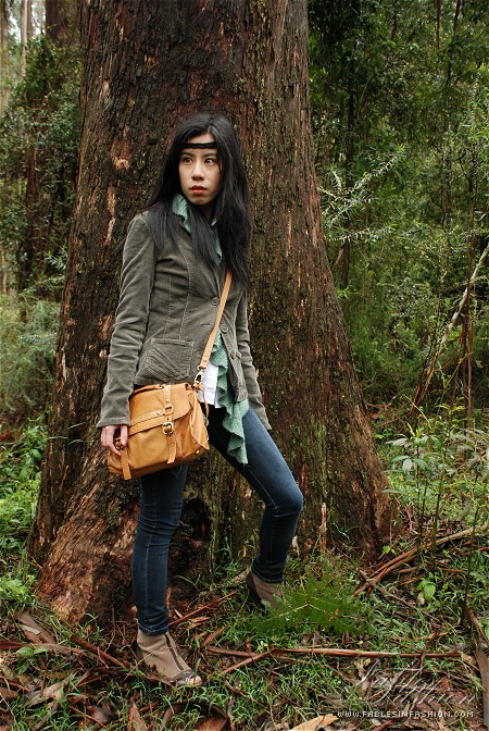 Outfit Forest Hike Fables In Fashion