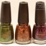 Nail Swatches: China Glaze Awakening Collection for Halloween 2010