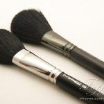 MAC Full Sized Brushes vs MAC Travel Sized Brushes Comparison