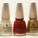 China Glaze Holiday 2010 Nail Swatches – Part 1