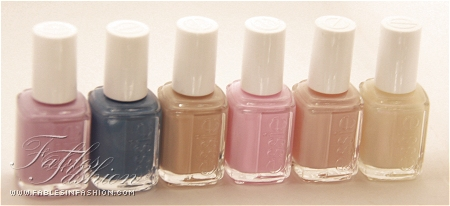 Essie A French Affair Collection Spring 2011 Swatches - Fables in Fashion