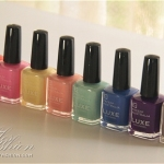 Face of Australia Luxe Nail Polish Collection Swatches