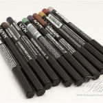 NYX Eye/Eyebrow Pencil Review, Swatches