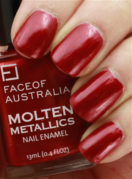 Face of Australia Molten Metallics
