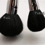 Sigma Travel Sized Brushes vs Sigma Full Sized Brushes Comparison