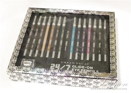 Urban Decay 15 Year Anniversary 24/7 Glide-On Eye Pencils Set