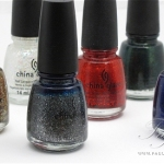 China Glaze Let it Snow Holiday 2011 Review, Swatches and Photos