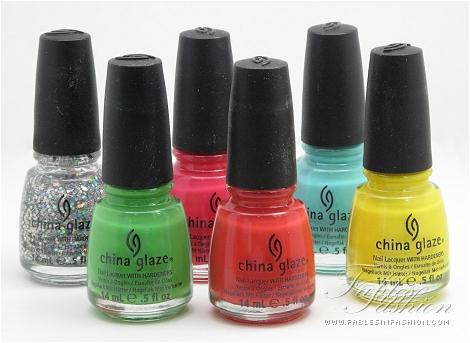 China Glaze Electropop - Brights Spring 2012