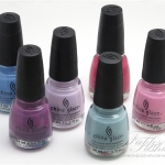 China Glaze Electropop – Lights 2012 Spring Collection Review, Swatches and Photos