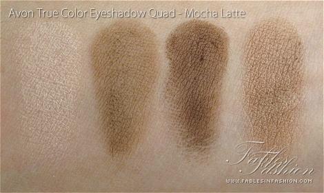 Avon True Color Eyeshadow Quad - Mocha Latte