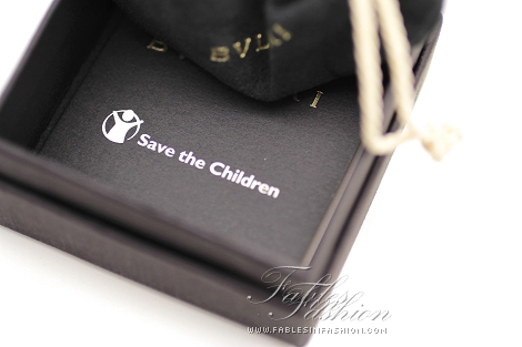 Bvlgari's Save the Children