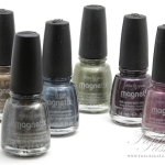 China Glaze Magnetix 2012 Collection Review, Swatches and Photos