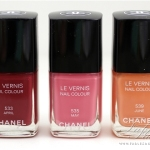 Chanel Spring 2012 Nail Polish Collection Review, Swatches and Photos