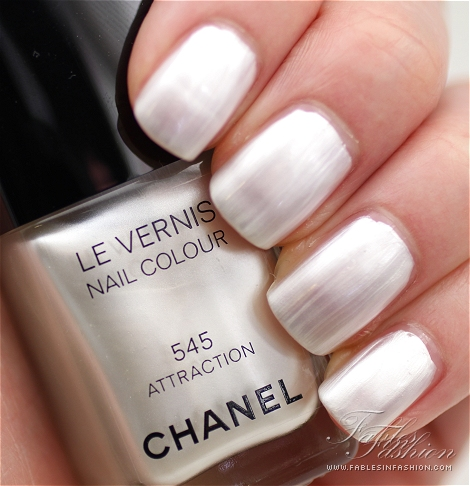 Chanel White Nail Polish Best Designs 2018