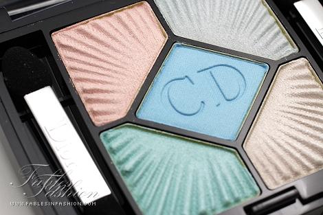 Dior 'Le Croisette' 5-Color Palette Summer 2012 - Swimming Pool