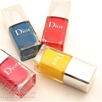 Dior Summer Mix 2012 Nail Polish Collection Review, Swatches and Photos