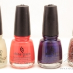 China Glaze Wicked Halloween 2012 Collection Review, Swatches and Photos