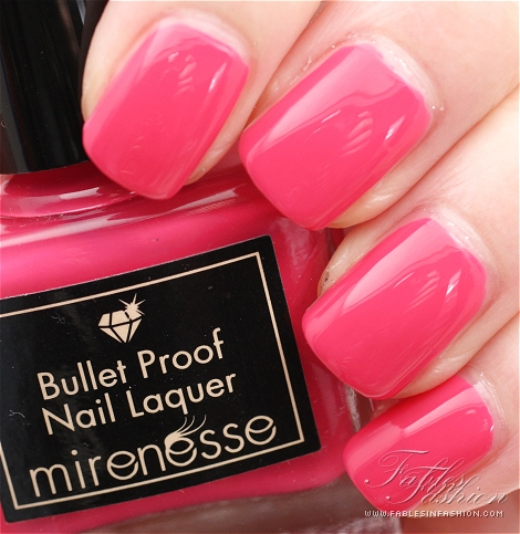 Mirenesse Bullet Proof Nail Laquer - Colour Blast
