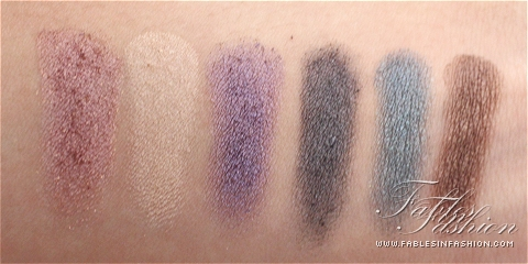 Urban Decay Holiday 2012 Feminine Palette