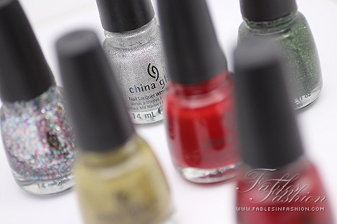 China Glaze Holiday Joy 2012