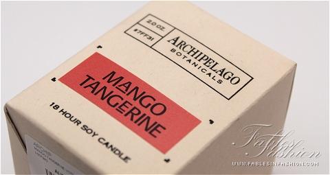 Archipelago Botanicals Mango Tangerine Soy Candle