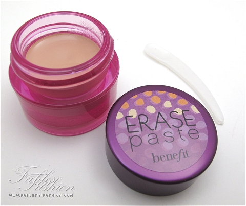 Benefit Erase Paste Review, Swatches and Photos - Fables in Fashion
