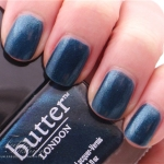Butter London – Bluey Review, Swatches and Photos