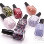 Face of Australia Glitterati Nail Polish Collection Review, Swatches and Photos