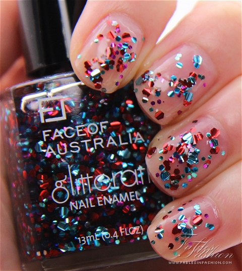 Face of Australia Glitterati Nail Polish
