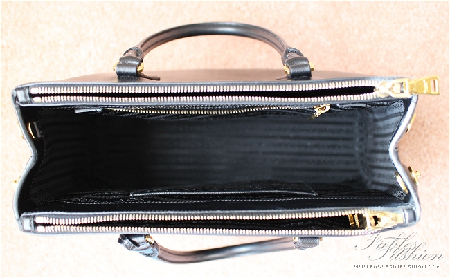 prada discount purses - Prada Saffiano Lux Small Tote Review and Photos - Fables in Fashion