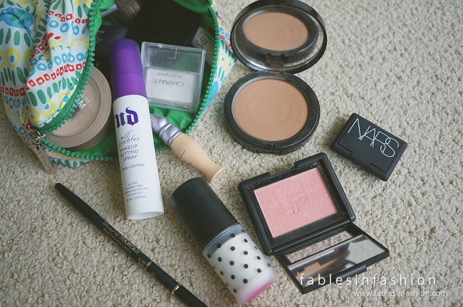 What's in my Travel Makeup Bag?