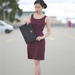 The Red Work Dress