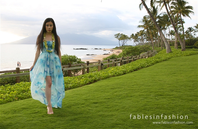 Maui Sunset Dress Andaz