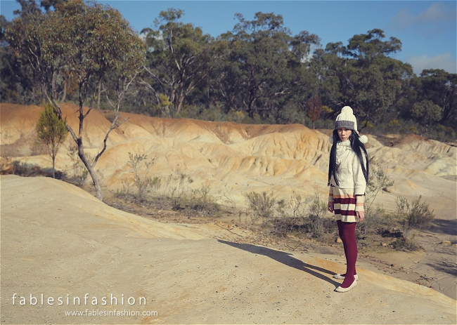 Fables in Fashion Celina Pink Cliffs Outfit OOTD