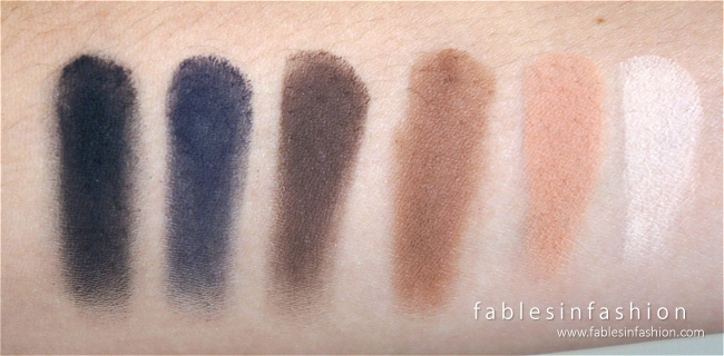Laura Mercier Artist's Palette for Eyes Collection Review, Swatches and Photos