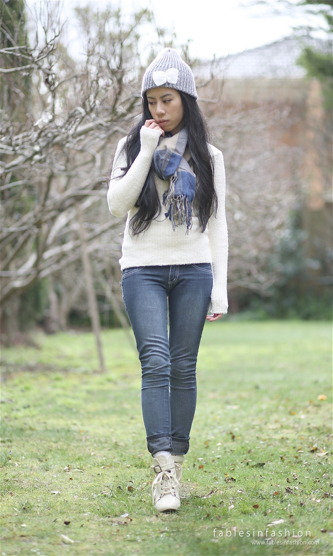 Fables in Fashion Celina Lee Winter Warm OOTD