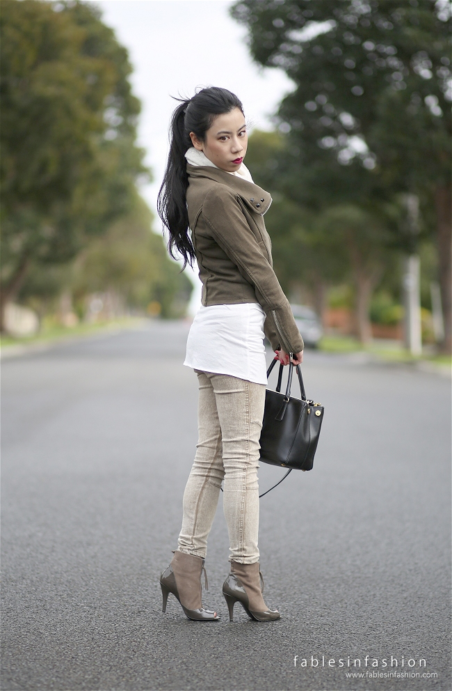 Fables in Fashion Outfit OOTD Khaki