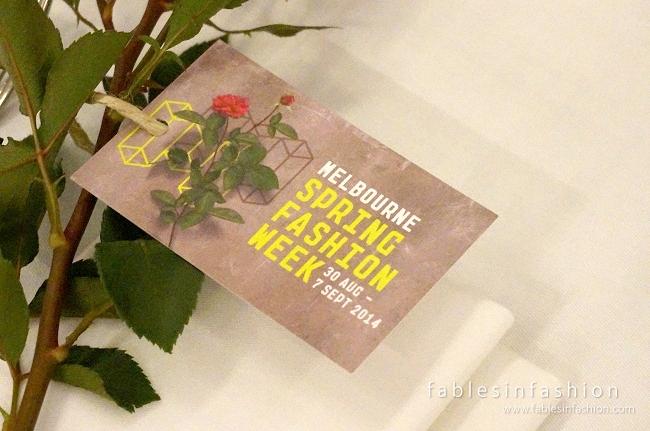 Melbourne Spring Fashion Week 2014 Influencer Luncheon