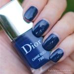 Dior Vernis – 796 Carre Bleu Review, Swatches and Photos