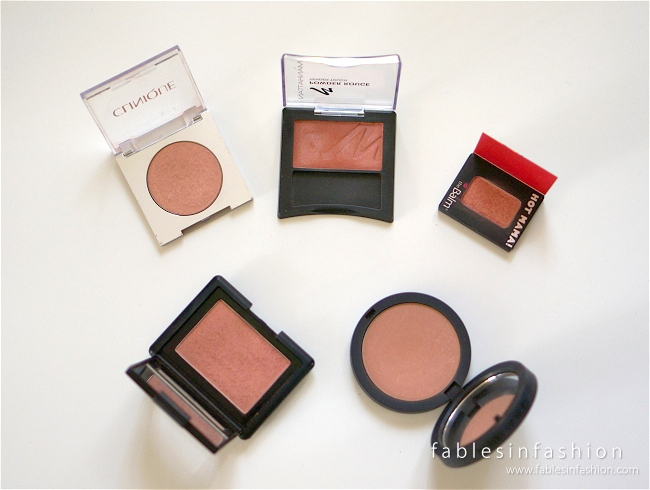 Favourite Blushes of the Moment