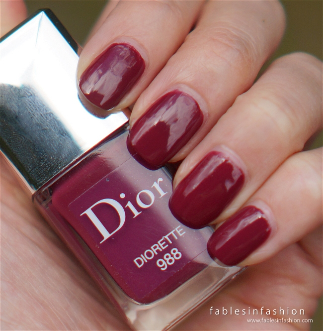 Dior Vernis 988 Diorette Review Swatches And Photos Fables In Fashion