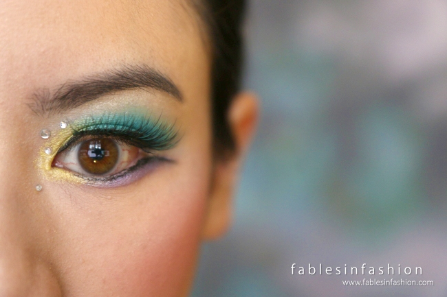 Mermaid Eyes Makeup Tutorial