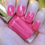 Jill Stuart Nail Lacquer R – 04 Pink Drop Swatch and Review