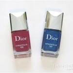 Dior Cosmopolite Fall 2015 Nail Polish – Cosmopolite & Darling Blue
